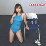 グラビア候補生の競泳水着おっぱいとハミ尻wwwwM字開脚の股間がエロイwwwシコれるはwwwwww