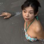 世界ふしぎ発見! ミステリハンター坂本三佳さんの見下げおっぱいとドロパックマンスジとお尻の割れ目wwwww