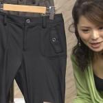ショップチャンネル近藤英恵さんの谷間胸チラおっぱいとパン線くっきりお尻がエロすぎw