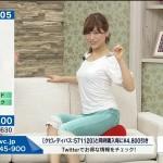 【QVCテレビショッピングエロ画像】永田佳代さんの胸チラ谷間と着衣巨乳おっぱいスケベすぎwwww
