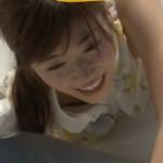 【女子アナエロ画像】可愛すぎるめざましアナ・牧野結美アナのブラチラと白ピタパンのお尻ww