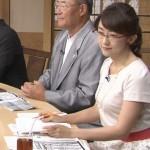【女子アナエロ画像】メガネ美女・唐橋ユミさんの可愛さと着衣巨乳おっぱいがコンディション抜群www