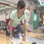 【エロGIF画像】小島瑠璃子ちゃんのおっぱいが見えたS☆1の胸チラキャプwww