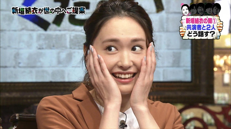 新垣結衣ちゃんの胸チラメイドコスのエロGIFキャプ画像62
