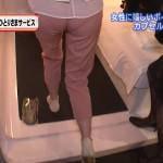 ケツのエロさは日本一かもしれな白石小百合アナのパン線・透けパンキャプ画像wwww