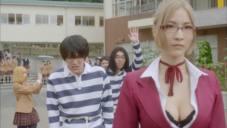 武田訓佳ちゃんの生脱ぎ下着姿がエロすぎる監獄学園のキャプチャー画像49