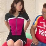 秋元玲奈アナのおっぱいやお尻、ボディラインが過激すぎる虎ノ門スポーツエロキャプ画像www