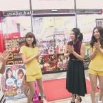 【明日花キララ画像】巨乳セクシー女優がおっぱい見せながらテレビに出演www
