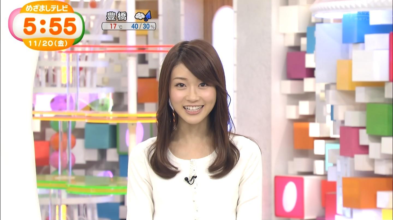 牧野結美アナと早川真理恵ちゃんのおっぱいエロキャプ画像15