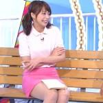 宇垣美里アナのムチムチ太ももがエロいミニスカしずかちゃんコスプレwwww