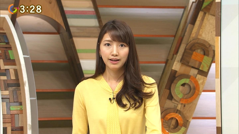 三田友梨佳アナの着衣おっぱいエロキャプ画像1447909603-0025-005