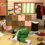 子供向け番組ニャンちゅうで横田美紀ちゃんのエロすぎるジャージ食い込みお尻とマンスジwwww