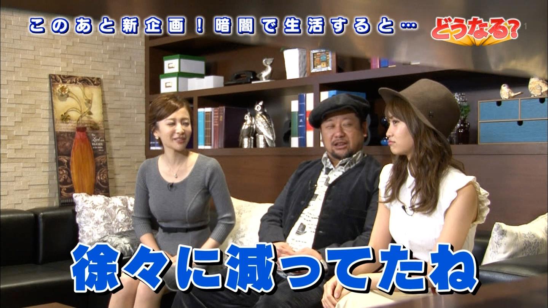 竹内渉さんのおっぱいのデカさと永尾まりやちゃんの可愛さキャプ画像09