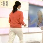 NHK森花子アナのパン線くっきり浮き過ぎなピタパンお尻に座られたいwww(顔騎的な意味で)