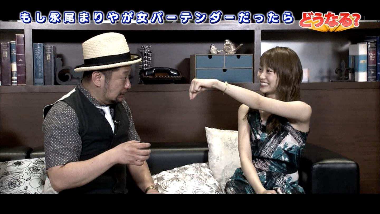 竹内渉さんのおっぱいのデカさと永尾まりやちゃんの可愛さキャプ画像47