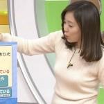 江藤愛さんのおっぱいに顔を埋めてヨシヨシされたいひるおび!エロキャプ画像