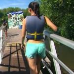 柿木理紗ちゃんのお尻と水着姿がエッチな旅サラダエロキャプ画像wwww