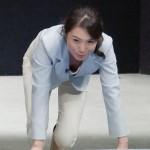 皆川玲奈アナの可愛いおっぱい丸見え胸チラエロキャプ画像wwww