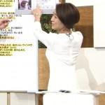 フェロモン系女子アナ・椿原慶子アナのスケスケ背中がエッチ杉内wwwwww