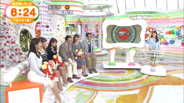 加藤綾子アナのニットワンピ着衣おっぱいエロキャプ画像19