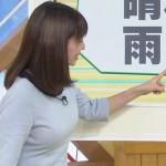 福岡良子とかいうチビ巨乳お天気お姉さんのエロ過ぎおっぱいwww