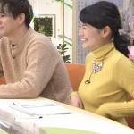 CBC古川枝里子アナの膨らみがエッチな着衣おっぱいwwww
