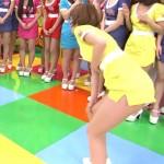 夏目花実さんがセクシー女優相手にパンチラや胸チラおっぱいで戦うマスカットナイトエロキャプ