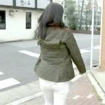 小倉弘子アナの白ピタパンお尻wwwパン線の形や肉のモチっと感がエッチなNスタエロキャプww