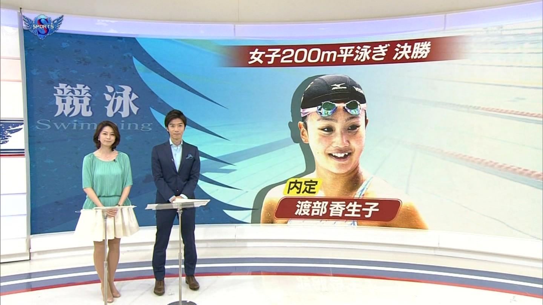 杉浦友紀アナのおっぱいキャプ画像9