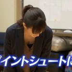 桐谷美玲さんの谷間ww胸チラおっぱいが見られたNEWS ZEROエロキャプ画像