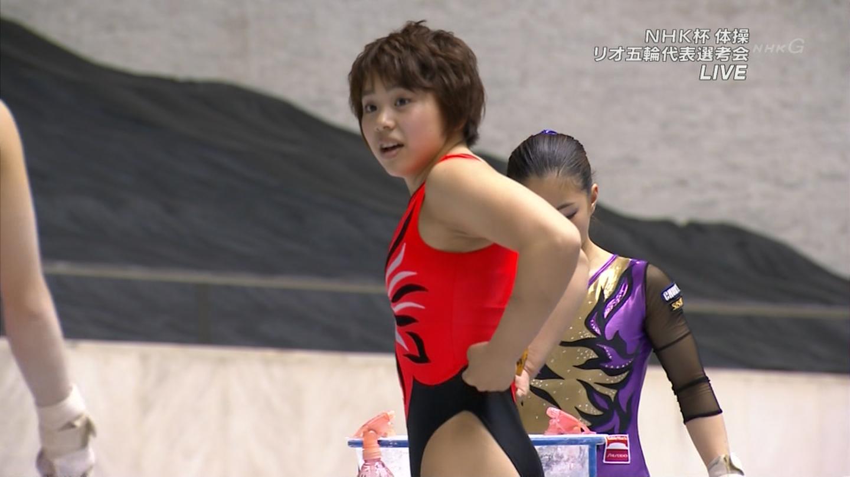 日本 女子 体操 エロ 女子体操のエロキャプ画像14
