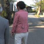 【女子アナ】福田佳緒理さんのパン線お尻www白パンツでくっきり浮かんだセクシーな後ろ姿www