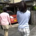 【GIF有】三輪秀香アナのお尻wwwピタピタパンツがフィットしまくりなあさイチキャプ画像