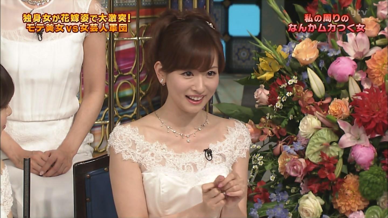 さんま御殿・伊藤綾子さんの胸チラおっぱいキャプ66