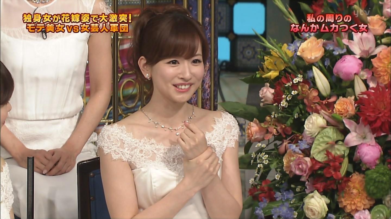 さんま御殿・伊藤綾子さんの胸チラおっぱいキャプ67