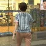 NHKのケツに自信ネキ・雨宮萌香アナのパン線くっきりお尻wwww