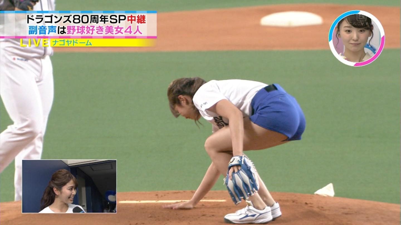 稲村亜美・始球式28