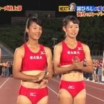 やっぱりこのユニフォームは色んなところ見ちゃう炎の体育会TV・東大阪大学女子陸上部キャプ画像