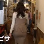 宇垣美里さんのパツパツお尻wwwタイトスカートがフィットしすぎてムチムチおケツwww