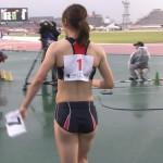 福島千里さんのお尻w下半身の性的魅力が凄い女子陸上エロ目線キャプ画像