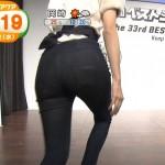 女子アナのジーンズお尻やこじるりちゃんのおっぱいなどテレビに映ったエロシーンまとめ。