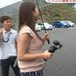 めんたいワイド・仲谷亜希子さんのおっぱい凄いwパイスラやピタピタお尻もエッチな女子アナw