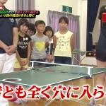 【GIF有】斎藤真美アナのお尻w卓球ユニのケツと太ももがエッチな過ぎるTVキャプ画像