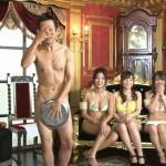 AV女優が水着で芸人が全裸wアキラ100%のチ●コをみて大爆笑なケンコバのバコバコテレビwww
