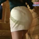 青海ちゃんの階段タイトスカートお尻がエロすぎたアイドルぷるルン!トラベラー