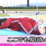 竹内由恵アナの走り高跳びがやらしいwwマットにめり込みつつお尻をクイッとあげるwww