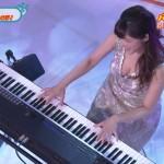 高木里代子さんのおっぱいwピアノ演奏を撮るという名目でNHKのスケベカメラマン上から狙いまくりwww