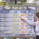 未来世紀ジバング・秋元玲奈さんの挑発的なおっぱいw横乳とあの線がたまらんww