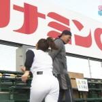 武田訓佳さんのプリップリお尻が魅力的なユニフォーム姿w熱血!タイガース党キャプ画像