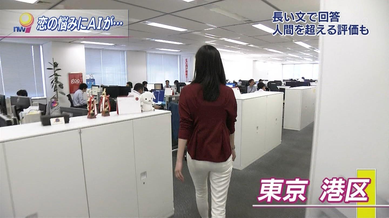 (お宝写真)《GIF有》田中泉さんのおヒップ☆☆☆☆☆☆白いピタパンが似合うプリプリ色っぽいおヒップ☆☆☆